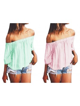 Romantyczna bluzka oversize