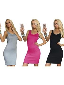 Sukienka dopasowana na ramiączkach