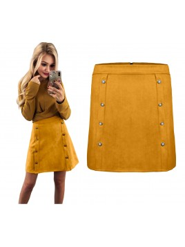 Trapezowa mini spódnica L/XL