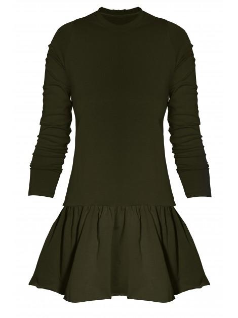 Sukienka z rozkloszowaną spódniczką