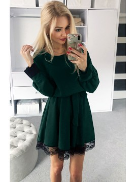 Rozkloszowana sukienka S/M
