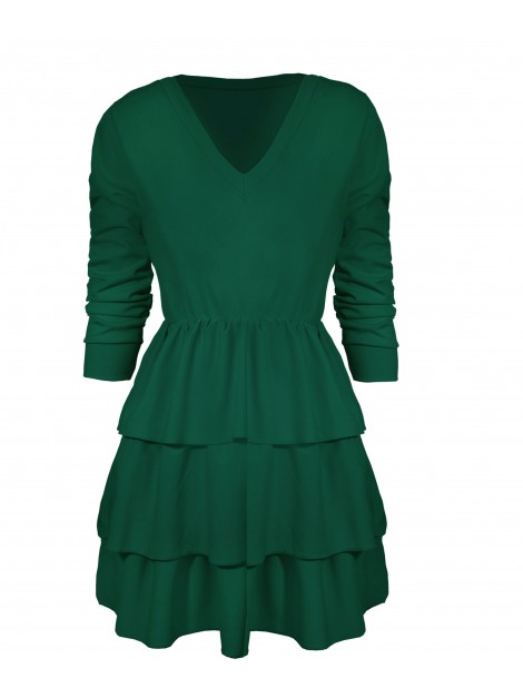 Sukienka z falbanami L/XL