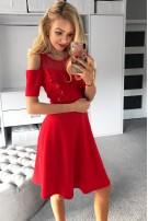 Sukienka z perełkami S/M