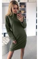 Dresowa mini sukienka S/M