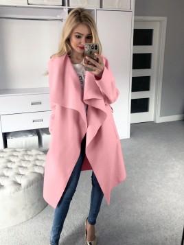 Klasyczny płaszcz z paskiem L/XL