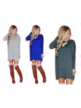 Mini sukienka - tunika oversize