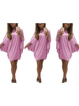 Oversize'owa sukienka nietoperz