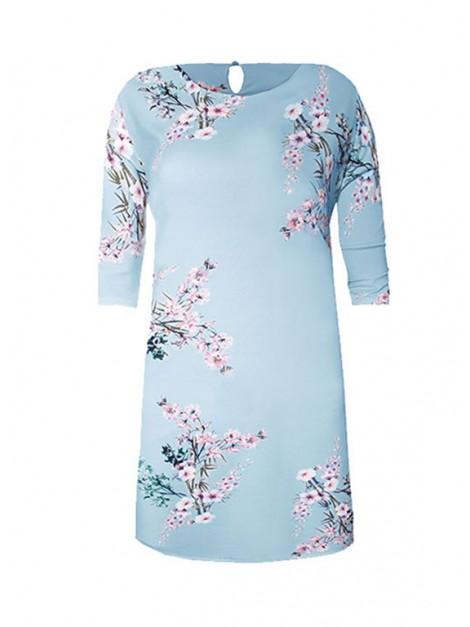 Sukienka w kwiecistym wzorze