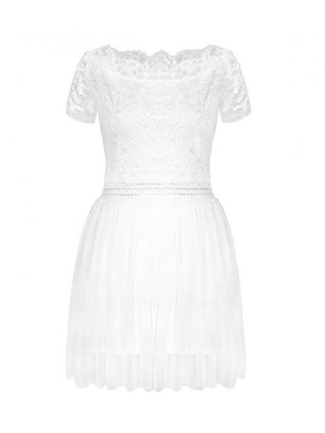 Sukienka z tiulową spódnicą i koronkową górą