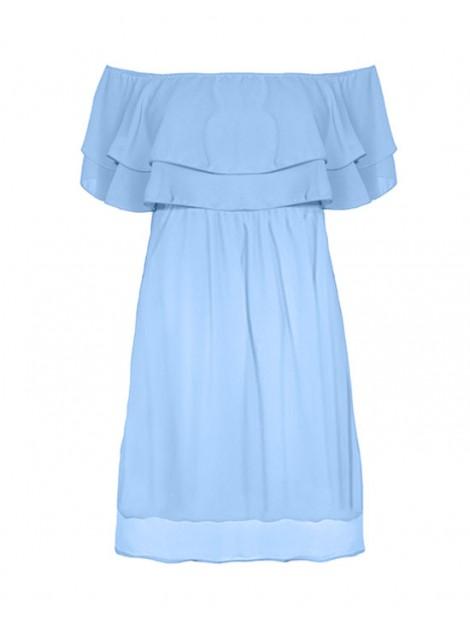 Oversizowa sukienka hiszpanka