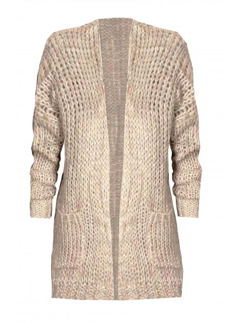 Kobiecy sweterek z kieszeniami