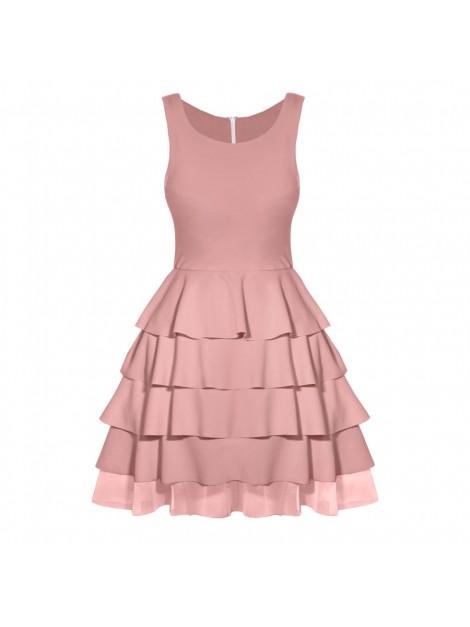 Rozkloszowana mini sukienka