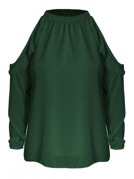 Zwiewna bluzka open shoulders