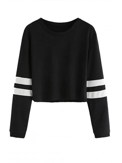 Bluza sportowa crop top