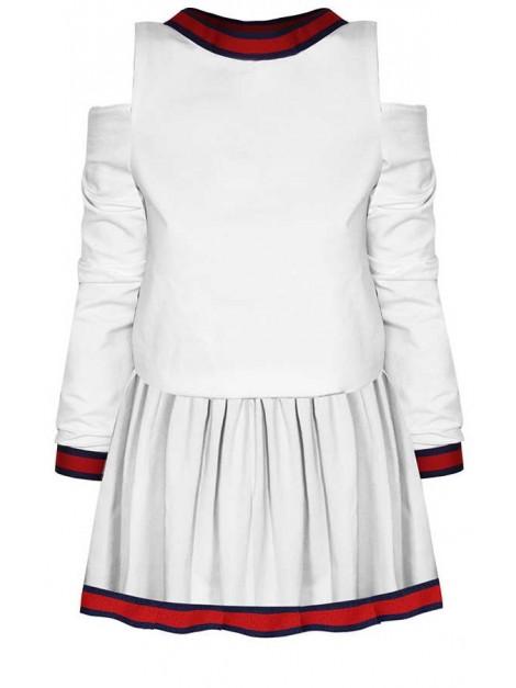 bf0b41b7f51ff Mini sukienka open shoulders z wstawkami al'a gucci - sklep z ...