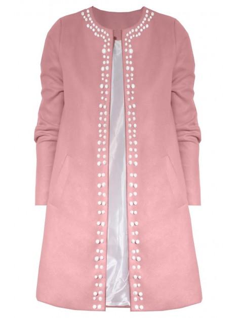 Klasyczny płaszcz z najmodniejszymi perełkami