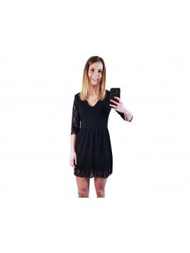 Mini koronkowa sukienka