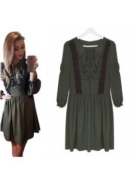 4f8a5419a82a70 Zwiewna sukienka w paski - sklep z odzieżą BySisi