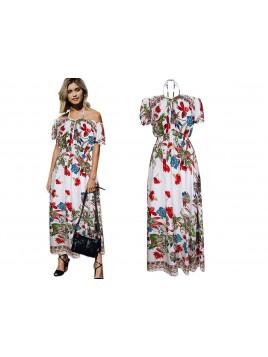 Sukienka maxi wiązana