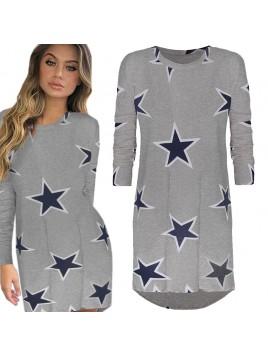 Sportowa bluza-tunika w najmodniejszy print