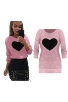 Sweterek z sercem
