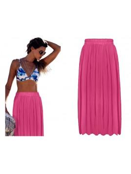 Maxi spódnica plisowana
