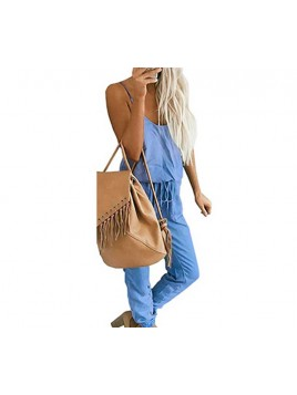 Modny kombinezon z jeansu