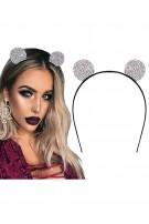 Opaska do włosów z kocimi uszami