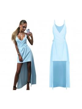 Asymetryczna sukienka maxi