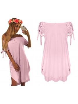 Luźna sukienka hiszpanka